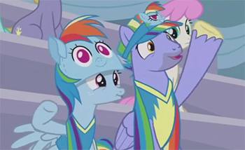 My Little Pony Friendship Is Magic S7 E7 Parental Glideance Recap Tv Tropes The pinkish(purpleish) mane and tail, the eye color. my little pony friendship is magic s7