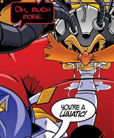 sonic the comic online villains characters tv tropes