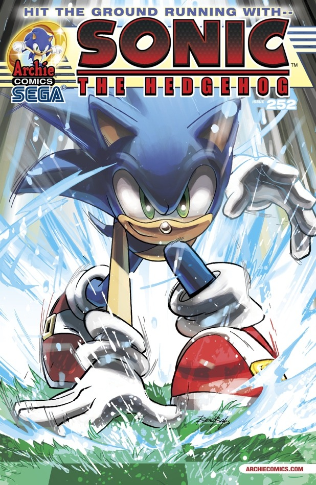 Archie Comics Sonic The Hedgehog Comic Book Tv Tropes