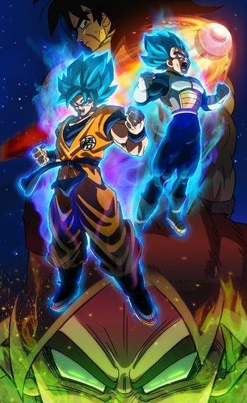 Dragon Ball Super Broly Anime Tv Tropes
