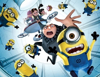 Despicable Me: Minion Mayhem (Ride) - TV Tropes