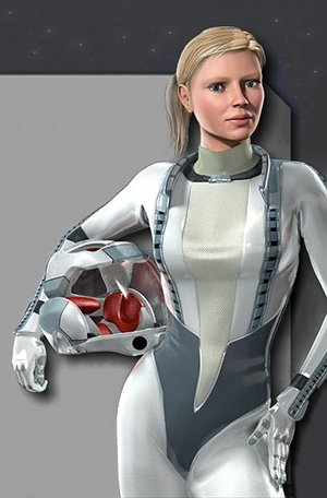 Latex Space Suit