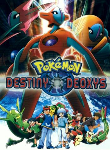 pok233mon destiny deoxys anime tv tropes