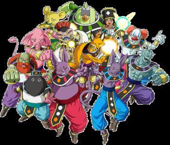 Dragon Ball Super Characters Tv Tropes