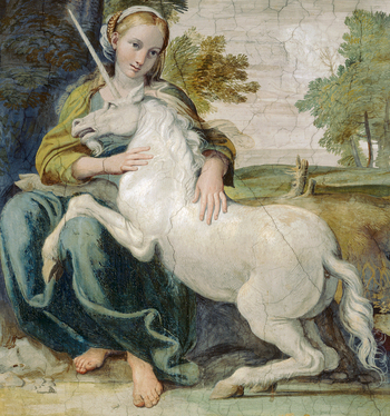 https://static.tvtropes.org/pmwiki/pub/images/domenichino_unicorn_detail.jpg