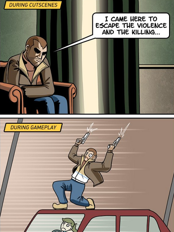 https://static.tvtropes.org/pmwiki/pub/images/dorkly_gta_iv_gameplay_cutscene_difference.png