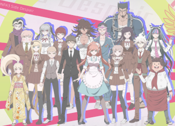 Danganronpa 3: Despair Arc / Characters - TV Tropes