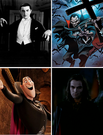 an analysis of the many faces of count dracula Vlad dracula iv and another son whose name remains unknown.