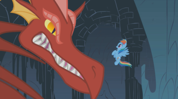 https://static.tvtropes.org/pmwiki/pub/images/dragon_growls_at_rainbow_dash_s01e07.png