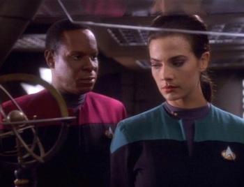 Star Trek Deep Space Nine S01e08 Dax Recap Tv Tropes