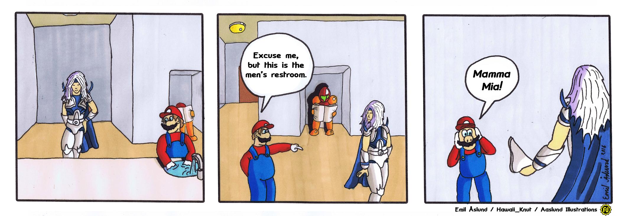 Home Comic Example