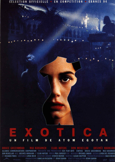 an analysis of exotica a film by atom egoyan 3) the sweet hereafter (atom egoyan, 1997) 4) jésus  like most egoyan  movies, this is an analysis as much as it is a drama—an idiosyncratic case study   but rather than an exercise in ethnography or a display of exotica, it is  basically a.