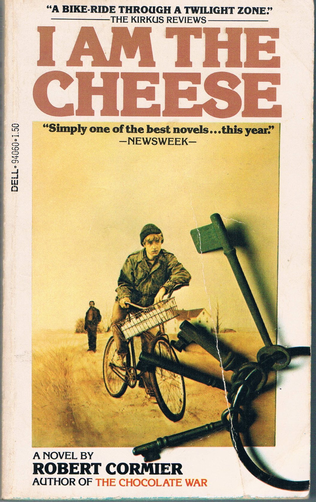 an analysis of the novel i am the cheese by robert cormier Posts about i am the cheese written by mark flowers  the completist: robert  cormier, part three what happens when your free will is no longer free the  novels we'll look at in today's post feature characters whose mental  and the  bumblebee flies anyway have clear connections in plot and theme.