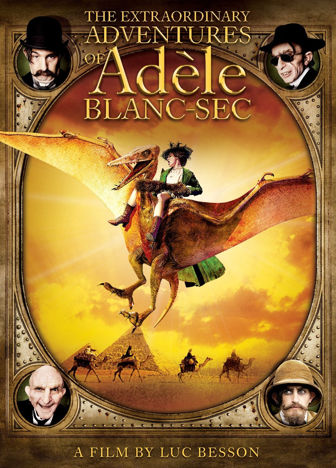 The Extraordinary Adventures Of Ad 232 Le Blanc Sec Film