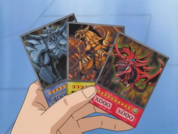 yugioh anime and manga cards characters tv tropes