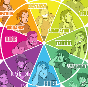 Colour coded emotions tv tropes for Feelings and colours