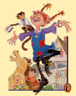 Checking Out Pippi Longstocking From >> Pippi Longstocking Literature Tv Tropes