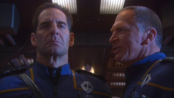 Star Trek Enterprise S04E18 In A Mirror Darkly Recap