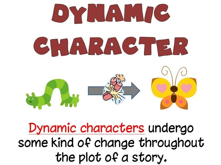 definition of static character in literature