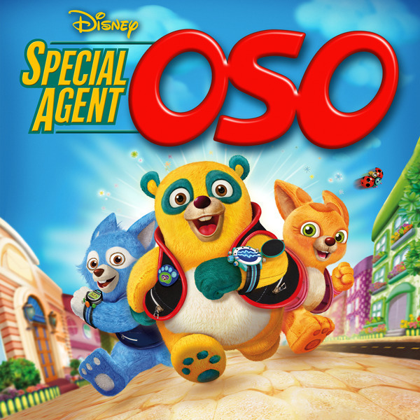 Special Agent Oso Western Animation