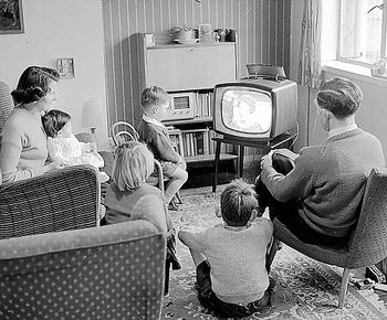 http://static.tvtropes.org/pmwiki/pub/images/family_watching_bw_tv.jpg