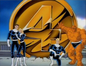 Image result for fantastic four 90s cartoon
