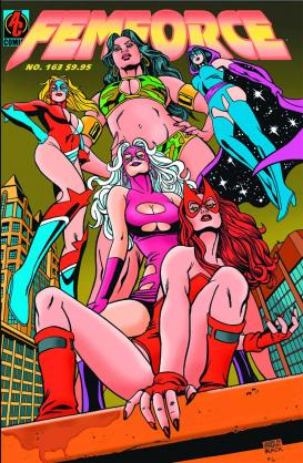 Femforce (Comic Book) - TV Tropes