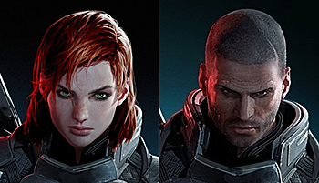 Mass Effect Commander Shepard Characters Tv Tropes