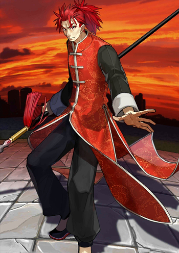 Fate grand order lancers characters tv tropes - Fate grand order lancer wallpaper ...