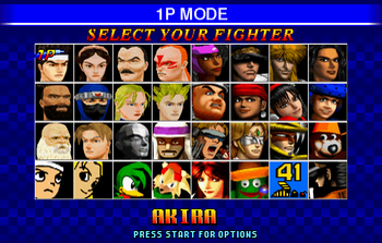 Fighters Megamix (Video Game) - TV Tropes