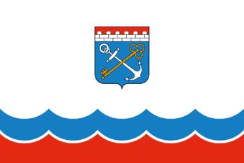 https://static.tvtropes.org/pmwiki/pub/images/flag_of_leningrad_oblast.png