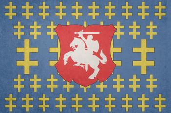 https://static.tvtropes.org/pmwiki/pub/images/flag_of_the_grand_duchy_of_lithuania_by_lyniv_d786xjb.jpg