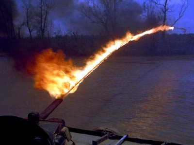 http://static.tvtropes.org/pmwiki/pub/images/flamethrower-boat.jpg
