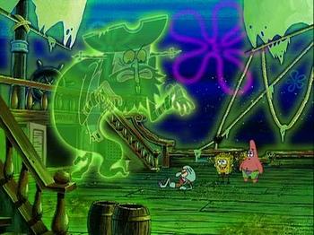 spongebob squarepants s 2 e 33 shanghaied gary takes a