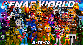 Five Nights at Freddy's World (Video Game) - TV Tropes
