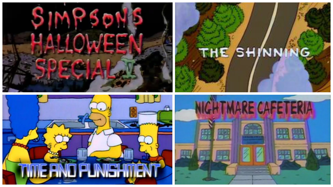 Watch treehouse of horror v