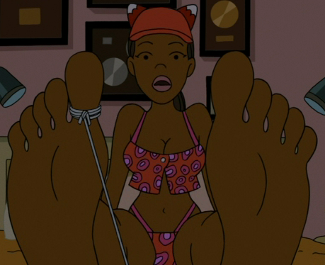 anime feet scenes. When the trap springs, the scene cuts to an extreme close-up ◊ of Foxxy#39;s soles as she awakes.