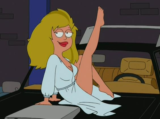 34 American Dad Rule Francine Smith http://tvtropes.org/pmwiki/pmwiki.php/FootFocus/WesternAnimation