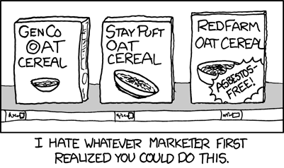 Asbestos-Free Cereal - TV Tropes