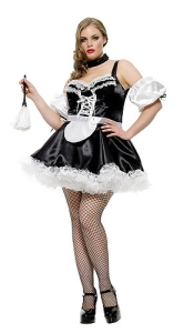 Fetish french maid