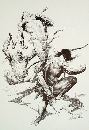 Frazetta Man - TV Tropes