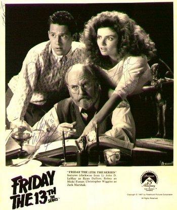 Friday 13th Men/'s Distressed Poster Vest