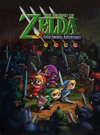 The Legend of Zelda: Four Swords Adventures (Video Game