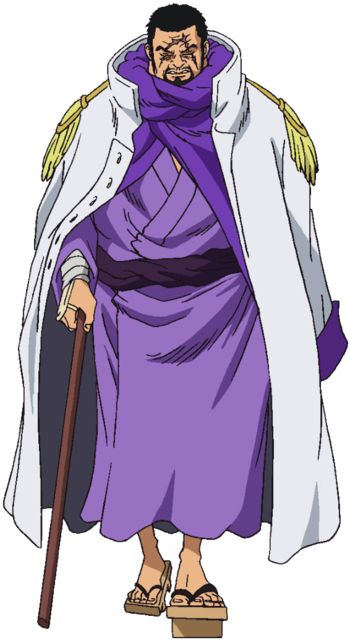 One Piece: Marine Admirals / Characters - TV Tropes