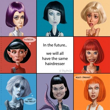 scifi bob haircut tv tropes
