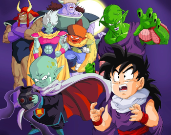 Dragon Ball Z Garlic Jr Arc Recap Tv Tropes I think people like it because of nostalgia, and it's true, garlic jr. dragon ball z garlic jr arc recap