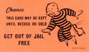 Image result for The 411 On Getting Out of Jail Quickly