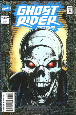 Ghost Rider 2099 / Comicbook - TV Tropes