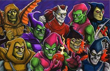 Spider-Man: Goblins / Characters - TV Tropes