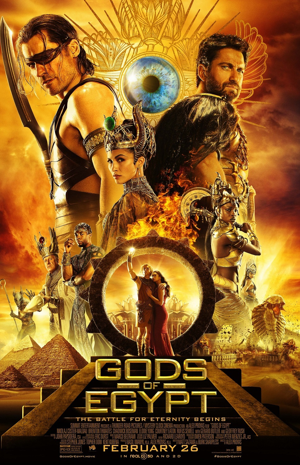 The creators of the film Gods of Egypt criticized for casting 11/30/2015 97